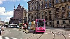 IJskoud omgeleid (Peter ( phonepics only) Eijkman) Tags: city holland netherlands amsterdam transport nederland tram rail rails trams strassenbahn noordholland gvb streetcars combino nederlandse