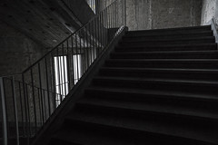 DSC05134 (JTork) Tags: sony a6000 alpha nex tempelhof airport go2know berlin germany deutschland abandoned forgotten urbex urban stairs staircase treppenhaus trep stair trap ladder jt31