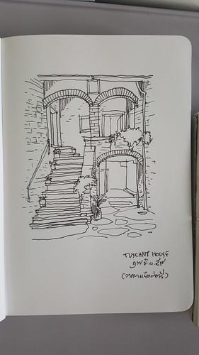 บ้านทัสคานี วาดในเรือข้ามฟาก 17 มิ.ย.59