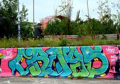 graffiti amsterdam (wojofoto) Tags: holland amsterdam graffiti nederland netherland ndsm wolfgangjosten croas wojofoto