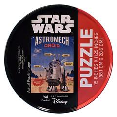 R2-D2 puzzle tin by Cardinal Industries (FranMoff) Tags: tin starwars puzzle r2d2 droid jigsawpuzzle astromech cardinalindustries