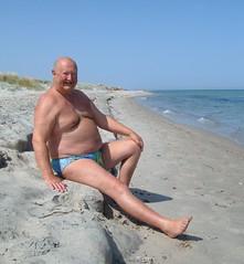 Resting on Tingaki beach (pj's memories) Tags: beach seaside kos briefs slip trunks speedo tingaki tanthru