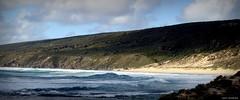 Blue. Waves. (jaap spiering   photographer) Tags: travel sea beach nature clouds strand coast waves wolken zee leeuwin kust capeleeuwin jaapspiering jaapspieringphotographer jaapspieringfotografie