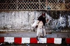 COME to PAPA ! (N A Y E E M) Tags: oldman beggar homeless morning winter candid portrait pavement footpath street crbroad chittagong bangladesh carwindow