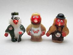 Wombles Pen Toppers (The Moog Image Dump) Tags: uk cute pen vintage toy kawaii figure elisabeth toppers beresford wombles