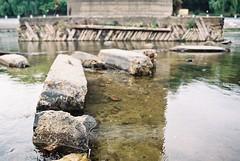 Stepping stones (Pavel Kaplunov) Tags: water river steppingstones gomel sozh