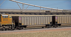 PPEX 1451 coal gond-Reno, Wyoming. (Wheatking2011) Tags: ppex pacific power light reno wyoming dave plant shortest route from powder river basin september 2002