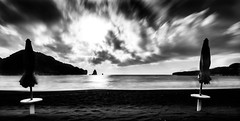 Where the world ends (Matthieu Manigold) Tags: longexposure bw italy black beach plage blanc vulcano beachplage
