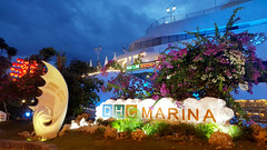 Marina entrance (Roving I) Tags: tourism evening design vietnam lanterns stormcloud attractions danang hanriver entrances dhcmarina happyyacht