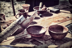 - (Alex-Bell) Tags: wood city table russia country made ax crockery ware  voronezh
