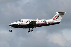 Beech B200GT King Air, ZK459 / X (WestwardPM) Tags: beechcraft beech raf royalairforce newquayairport b200gt zk459 cornwallairportnewquay