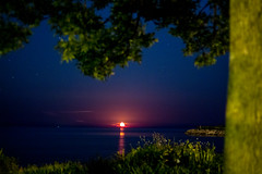 DR 2 (nothingaboutme) Tags: night lakemichigan moonrise manitowoc