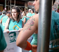 #NYCPride (pburka) Tags: nyc newyork june march manhattan pride parade turing nycpride pridemarch twosigma pride2016 teamturing nycpride2016 pridenyc2016