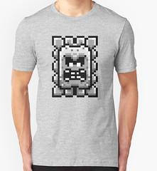 kebuenowilly: Thwomp pixel t-shirt from Super Mario World (Memes, T-Shirts) Tags: world nintendo 8 super mario retro gaming pixel pixelart nes 16 8bit maker mariobros bros yoshi bit snes supermario 16bit thwomp mariomaker