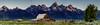 Moulton Barn Pano (Travis Klingler (SivArt)) Tags: mormonrow barns grandteton panorama danballard moultonbarn wyoming