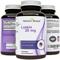 Pure Lutein Plus Zeaxanthin Supplement - Vision and Eye Support for Men and Women - USA Made FLORAL GLO by Nature Bound (discoverdoctor) Tags: nature floral support women made vision plus bound pure supplement lutein zeaxanthin