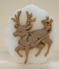 Reindeer $3.00 (Clelian Heights) Tags: christmas winter reindeer rudolf soaps unscented santasreindeer decorativesoaps cleliansoaps cleliancenter