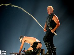 Rammstein (AliceLaneZombie) Tags: show industrial live arena till bologna pyro rammstein unipol lindemann