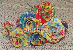 REF. 0099/2013 - Flores de Chita (.: Florita :.) Tags: flores chita florita chitão quechitabacana floresdetecido flordechita floresartesanais floresdechita chitanadecoração rosadechita