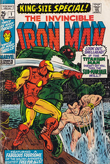 Iron Man Special 1 (micky the pixel) Tags: comics kirby comic ironman stan superhero marvel tonystark submariner heft superheld dereiserne leelarry lieberdon heckjack