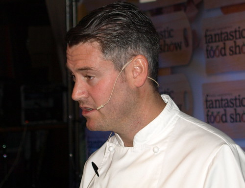Chef Colin McGurran at Nigel Haworth