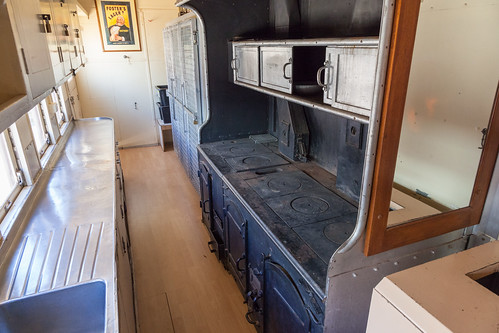Old Ghan Train Club Car Galley