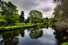 Mount Usher Gardens (fearghal breathnach) Tags: trees color reflection clouds canon river landscape photography photo day cloudy photos wideangle naturalbeauty wicklow ultrawide hdr 1022 efs1022 fearghalbreathnach canonefs1022 mountushergardens pwfall httpswwwfacebookcomfergphotos