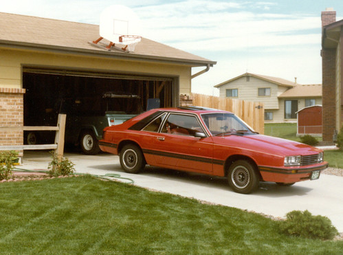 1981 Mercury Capri GS