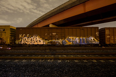 KCS Boxcar (dogslobber) Tags: street art train graffiti miami stock said railfan freight rolling freights eka fr8s fr8heaven