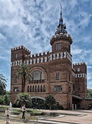 the Three Dragons Castle - Barcelona