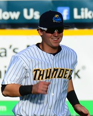 Tyler Austin Before the Game (slgckgc) Tags: austin waterfrontpark trentonthunder tyleraustin