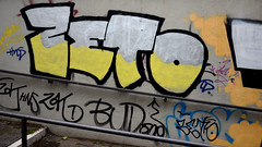 ZETO (Ghost Hunter Frankfurt) Tags: streetart underpass graffiti frankfurt hns hugojunkers zeto