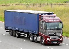 Mercedes Actros MP4 M800 BBT - Benton Bros (gylesnikki) Tags: truck artic mp4 lockerbie a74m bentonbros