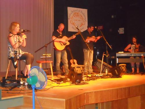 Acadia Trad School 2013 Concert. Vishten with Ryan McGiver