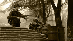 Schmeisser Brothers (WesternOutlaw) Tags: actionfigures combat toysoldiers halftrack 118 forcesofvalor powerteamelite ultimatesoldier bravoteam hamomag