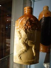 P1110969 Whitby Museum (speccy_beardy) Tags: flask stoneware saltglazedbottle