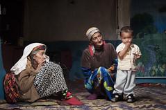 A Family of the Wakhan Valley (Brave Lemming) Tags: travel family grandma boy people house asia mother corridor adventure silkroad inside tajikistan tajik himalaya centralasia himalayas biketour pamir worldtravel pamirs tadjikistan wakhan badakhshan  bravelemming
