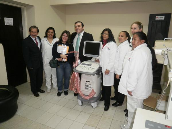 Colaborando con el Hospital del Indígena (Paraguay)