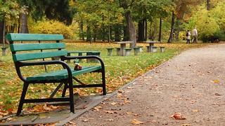 Włóczykij in the park