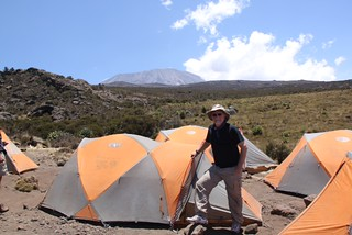 Thomson Safaris's Mountain Hardware tents