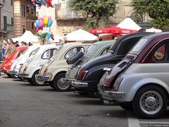 car tails (rpalandri) Tags: italy fiat 500 fiat500 abarth rm manziana sagradellacastagna wwwraffaellopalandricom