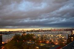 (SinaBasila) Tags: autumn berlin clouds lights highrise lichtenberg