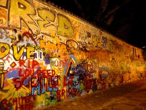 Mur de John Lennon, Prague, République Tchèque