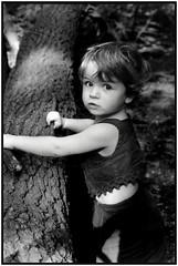 Forêt de Sénart 2 (philippe m. photography) Tags: portrait blackandwhite bw france blancoynegro analog children child analogue enfant biancoenero philippemarchand