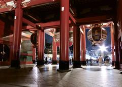 KAMINARI-Mon gate Asakusa,Tokyo (Hiroyuki Tsuruno) Tags: night gate view asakusa  kaminari