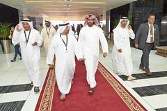 Sheikh Zayed_5 (J Graphic & Digital Design) Tags: smiling walking al tour group exhibition bin zayed khalifa conference handshake sultan greeting sheikh redcarpet nahyan oilindustry royaltour adipec