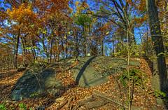 Gettysburg - Little Round Top southeastern slope (cmfgu) Tags: autumn color fall leaves pennsylvania pa gettysburg civilwar national battlefield hdr highdynamicrange slope southeastern littleroundtop