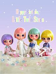 Happy Birthday Little Twin Stars