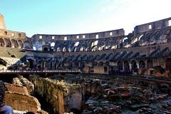 Colosseum & Forum Romanum (Lee Armstrong Jones) Tags: italy rome roma architecture canon italia roman forum colosseum saturn forumromanum 550d templeof romeamphitheater