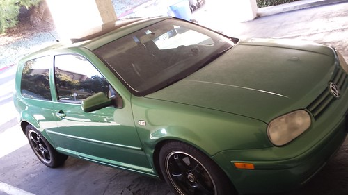 My Green VW Love